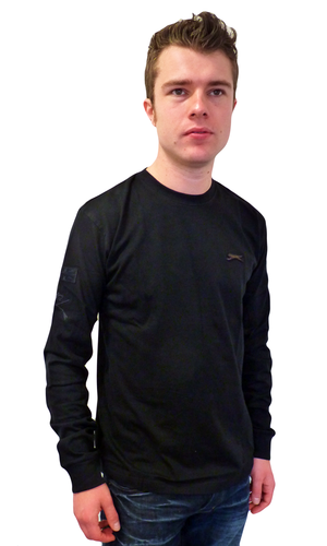 Berg SLAZENGER HERITAGE Retro L/S Military T-Shirt