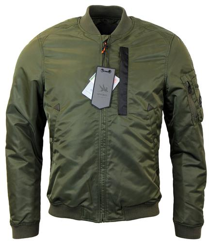 SPIEWAK BOMBER FLIGHT RETRO JACKET GREEN