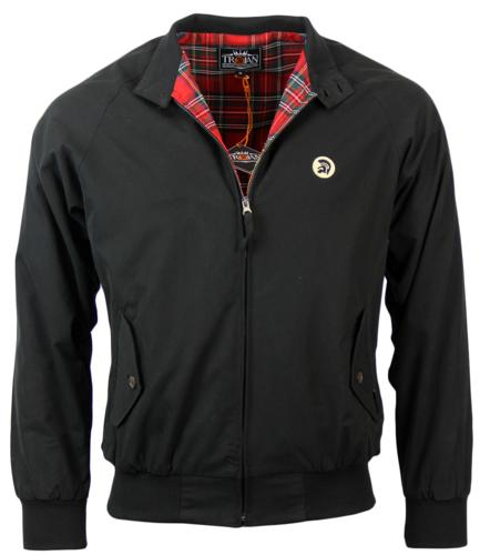 TROJAN RECORDS MOD TARTAN LINED HARRINGTON JACKET