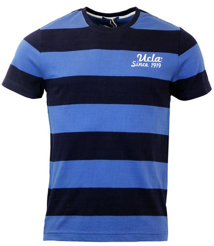 UCLA ARTHUR RETRO BLOCK STRIPE T-SHIRT
