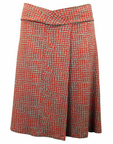 Bean VILA JOY Retro Sixties Mod A-Line Skirt (O)