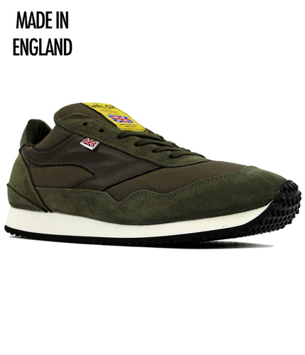 WALSH ENSIGN RETRO MADE IN ENGLAND TRAINERS
