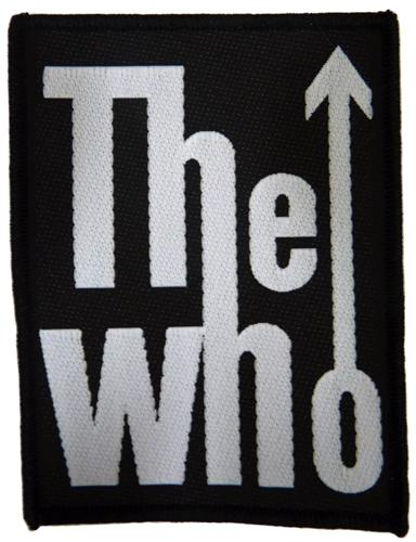 THE WHO PATCH SEW ON PATCHES RETRO MOD PATCHES