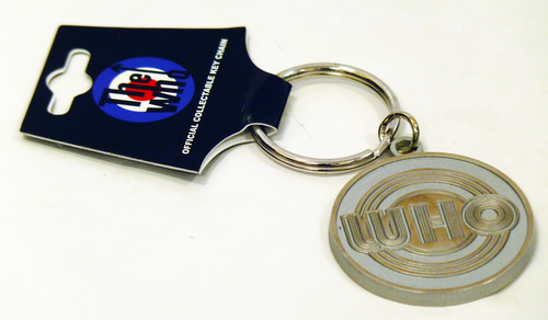 The Who Retro Sixties Mod Circles Logo Keyring