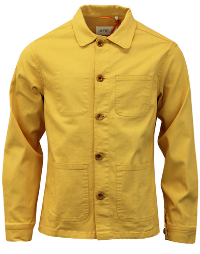 AFIELD Retro Sixties Cotton Twill Station Jacket