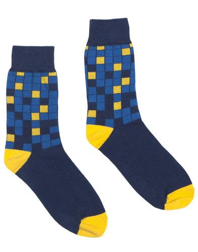 AFIELD Retro Mod Abstract Square Pool Tile Socks