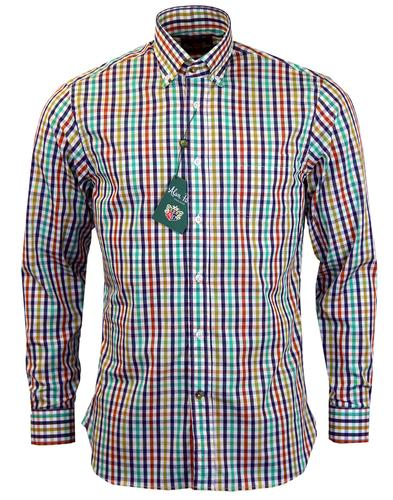 ALAN PAINE RETRO MOD COUNTRY CHECK SHIRT