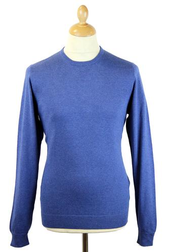 Leysmill ALAN PAINE Luxury Cotton Crew Neck Jumper