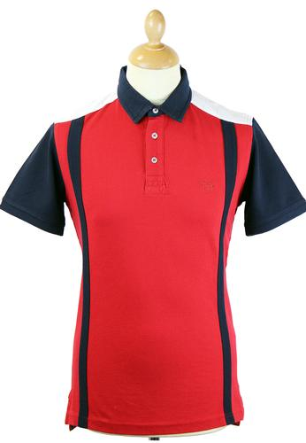 ALAN PAINE BEETHAM EXPLORER RETRO PIQUE POLO RED
