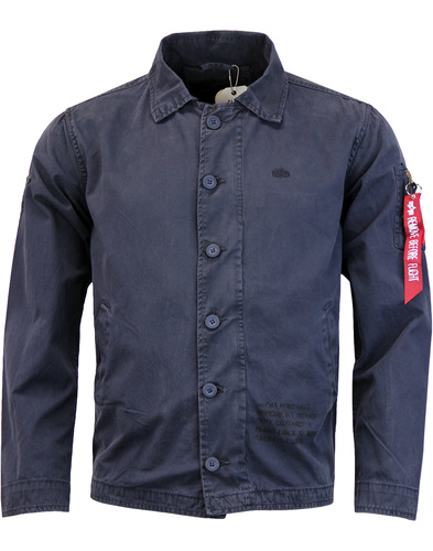 ALPHA INDUSTRIES Military Authentic Utility Jacket