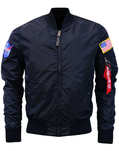 alpha industries Nasa Bomber Jacket reversible