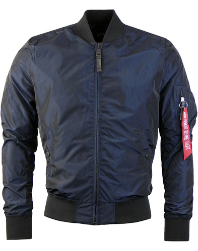 alpha industries ma1 lw bomber Rep Blue