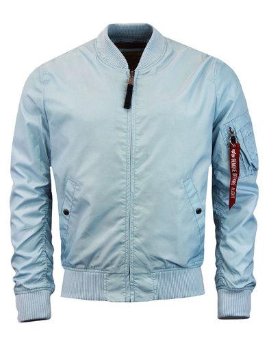 alpha industries MA 1TT Bomber Jacket air blue