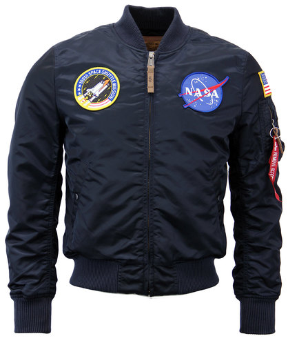 ALPHA INDUSTRIES RETRO MOD MA-1 NASA JACKET