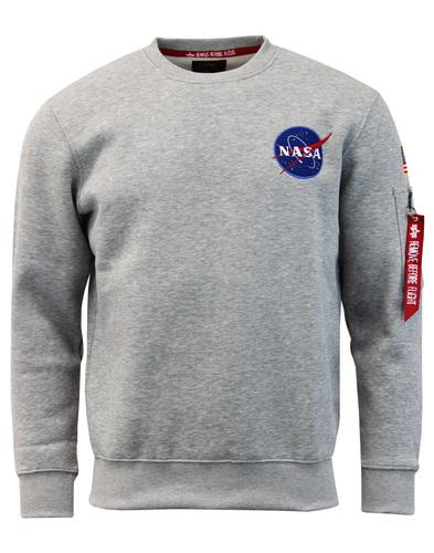 NASA Space Shuttle ALPHA INDUSTRIES 70s Sweatshirt
