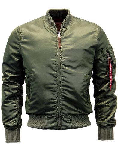 alpha industries ma1 vf retro mod bomber jacket