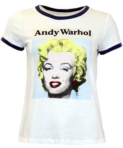 ANDY WARHOL POP ART MARILYN MONROE T-SHIRT