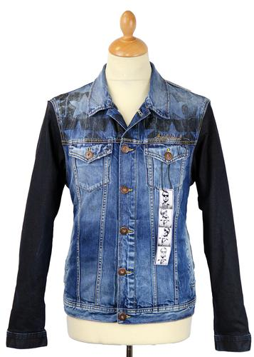 ANDY WARHOL POP ART RETRO 70S DENIM JACKET