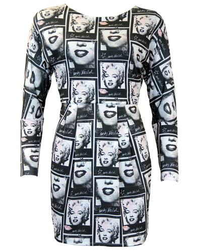 ANDY WARHOL POP ART MARILYN MONROE DRESS