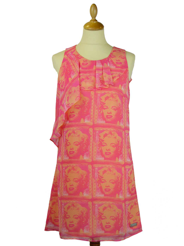 ANDY WARHOL HEIDI MARILYN MONROE POP ART DRESS
