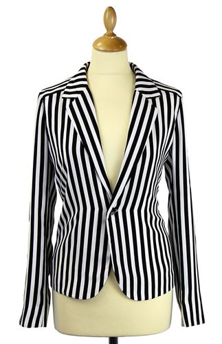 ANDY WARHOL RETRO MOD WOMENS BLAZER JACKET