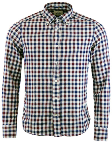 Dexter  B D BAGGIES 60s Herringbone Gingham Shirt