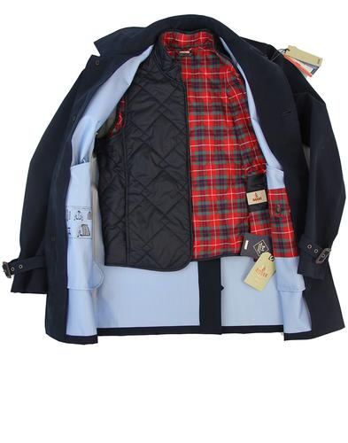 BARACUTA 3 LAYER TRENCH COAT AND GILLET