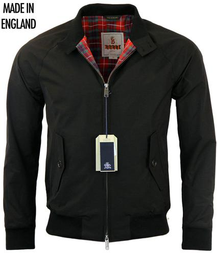 BARACUTA G9 CLASSIC RETRO 60s MOD HARRINGTON BLACK
