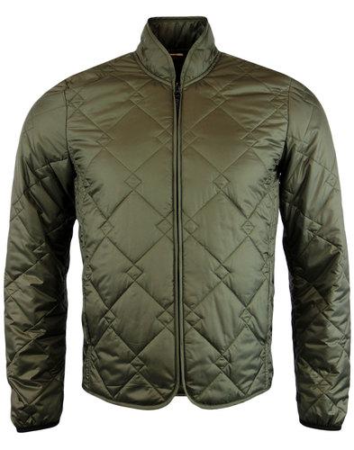 baracuta retro mod modular quilted ripstop jacket