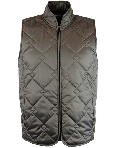 baracuta shoreditch retro mod quilted modular vest