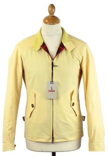 BARACUTA ORIGINAL G4 HARRINGTON JACKET CORN YELLOW