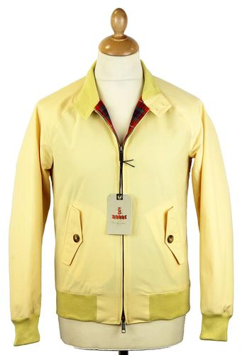 BARACUTA ORIGINAL G9 HARRINGTON JACKET CORN YELLOW