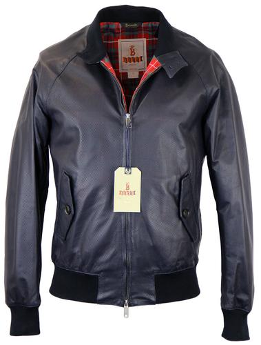 BARACUTA G9 ORIGINAL LEATHER HARRINGTON JACKET