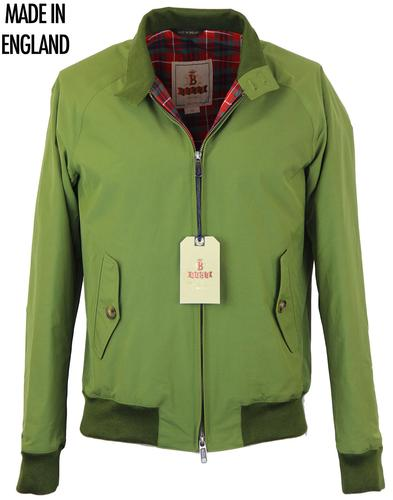 BARACUTA G9 ORIGINAL RETRO MOD HARRINGTON OILGREEN