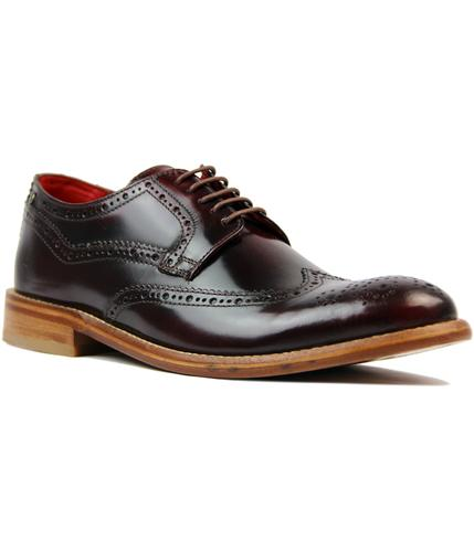 Analog BASE LONDON Mod Hi Shine Leather Brogues