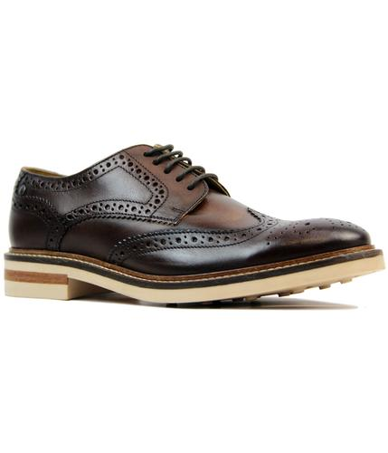 Apsley BASE LONDON Retro Mod Wingtip Derby Brogues
