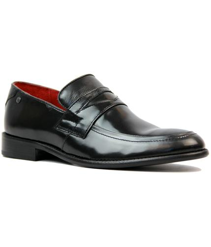 BASE LONDON MACKINTOSH RETRO MOD PENNY LOAFERS