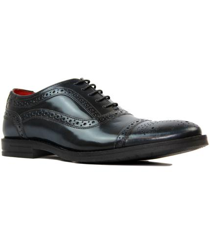 Waltham BASE LONDON Mod High Shine Oxford Brogues