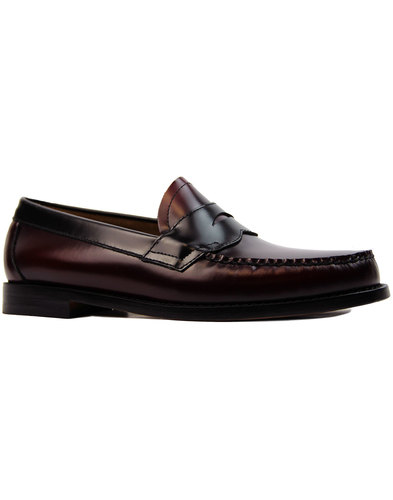 Logan Two Tone BASS WEEJUNS Mod Penny Loafers (BB)