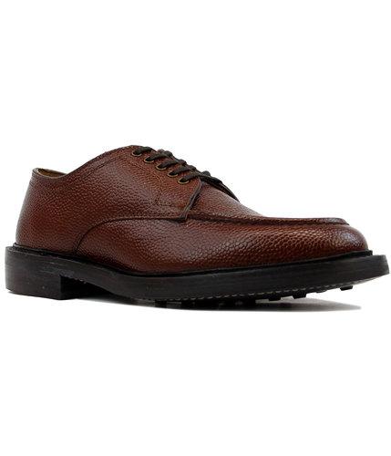 BASS WEEJUNS Retro Mod Monogram Apron Grain Shoes
