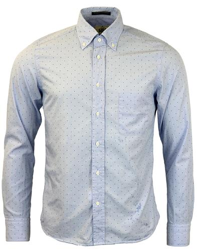 Dexter B D BAGGIES Mod Slim Multi Pin Dot Shirt