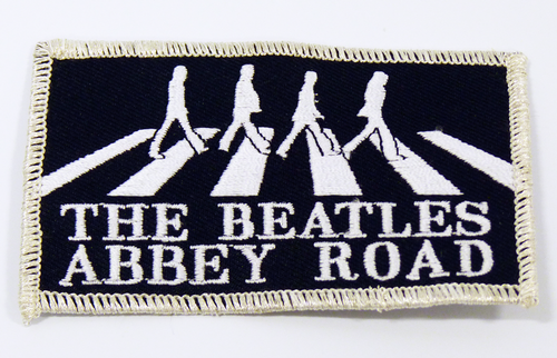 BEATLES ABBEY ROAD SEW ON PATCH BEATLES BADGES