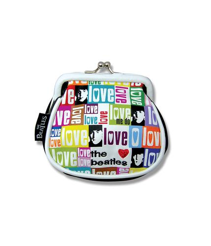 Beatles Love Me Do DISASTER DESIGNS 60s Clip Purse