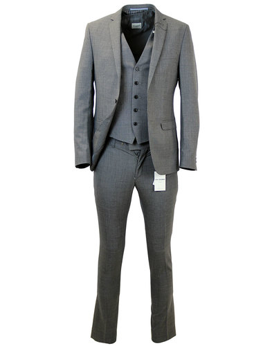 BEN SHERMAN RETRO MOD THREE PIECE SUIT