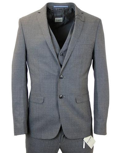 BEN SHERMAN Micro Dogtooth 3 Piece Suit