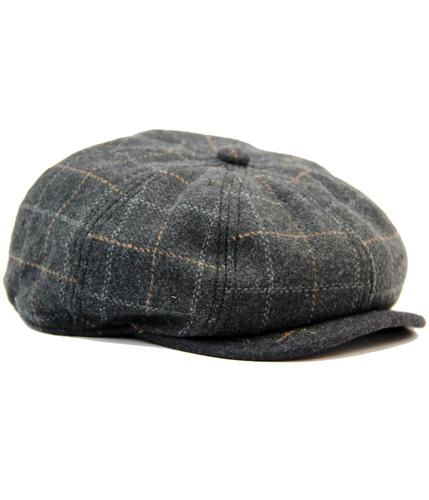 BEN SHERMAN RETRO MOD 60s GATSBY HAT CAP