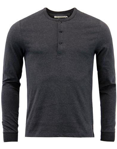 ben-sherman-retro-mod-henley-neck-tee-jet-black