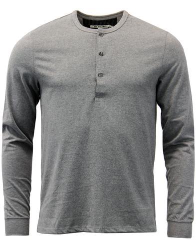 ben-sherman-retro-mod-henley-neck-t-shirt-silver