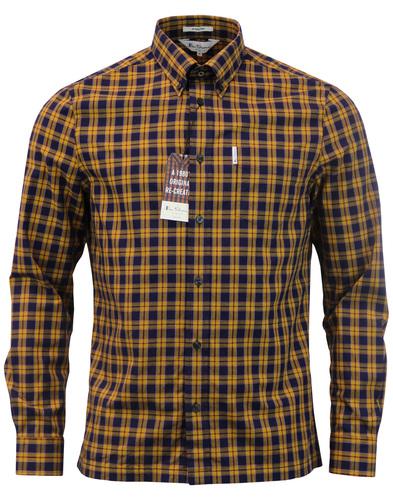 Kingly BEN SHERMAN 1980s Archive Tartan Shirt