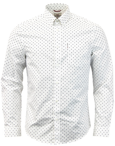 ben sherman polka dot shirt mod